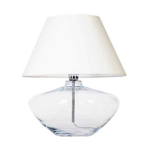 4concepts Lampa stołowa lampka madrid 1x60w e27 szary abażur l008031203