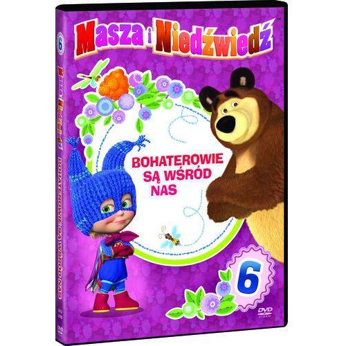 Masza i Niedźwiedź, Bohaterowie są wśród nas, Sezon 2 cz.3. DVD z kategorii Filmy animowane
