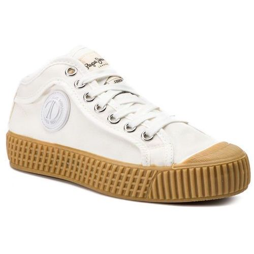 Trampki PEPE JEANS - In-G Hi Girls PGS30403 Off White 803