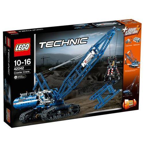 Lego TECHNIC Żuraw gąsienicowy 42042