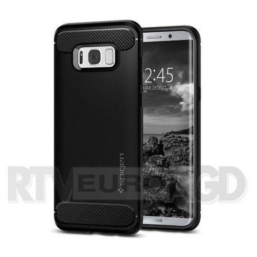 Spigen Rugged Armor 571CS21661 Samsung Galaxy S8+ (czarny) (8809522196077)