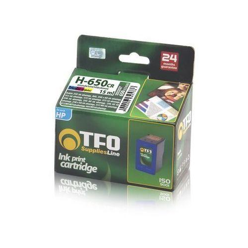 Tusz TFO HP-650 H-650CR (CZ102A) 16.5ml do HP DeskJet 1015M, DeskJet 2515, DeskJet 2545, kolor wielokolorowy
