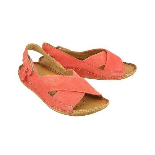 Maciejka 00994-30/00-5 koralowy, sandały damskie - różowy