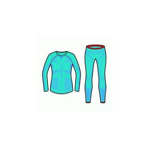 Bielizna termoaktywna Transtex Warm Seamless Set Woman Niebieski/Jasny 36/38, kolor niebieski