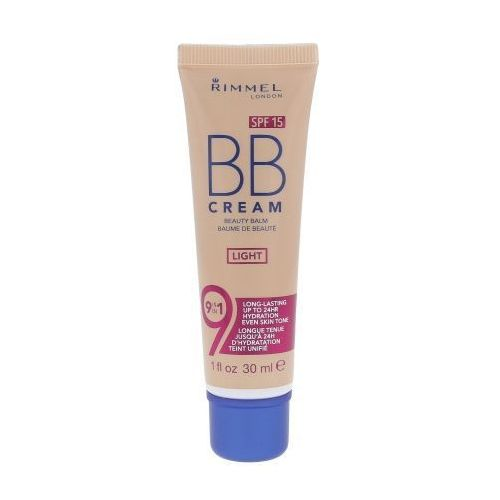 Rimmel London BB Cream 9in1 SPF15 30ml W Krem do twarzy BB Light