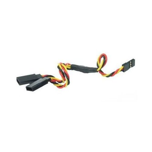 Y - kabel rozgałęziacz jr 15cm 22awg skręcony marki Gpx extreme
