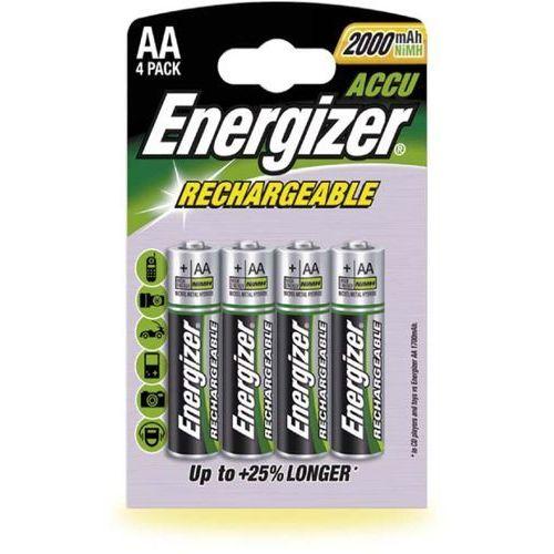 ENERGIZER Akumulatorek Nimh AA 2000mAh HR6 1.2 V pack of 5, opakowanie 4 szt.