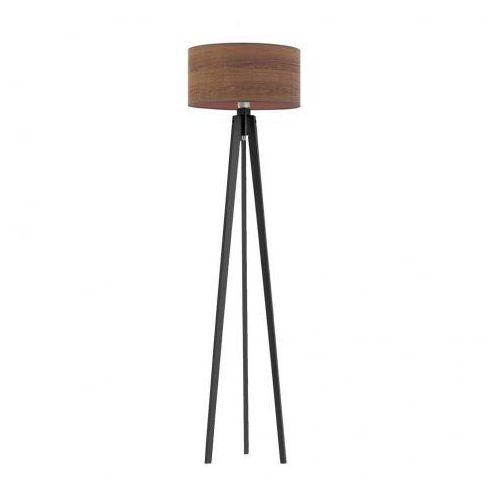 Drewniana lampa podłogowa do sypialni MIAMI ECO, 2003/2