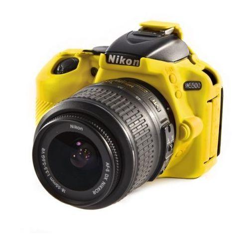 Easycover  osłona gumowa dla nikon d5500/5600 żółta