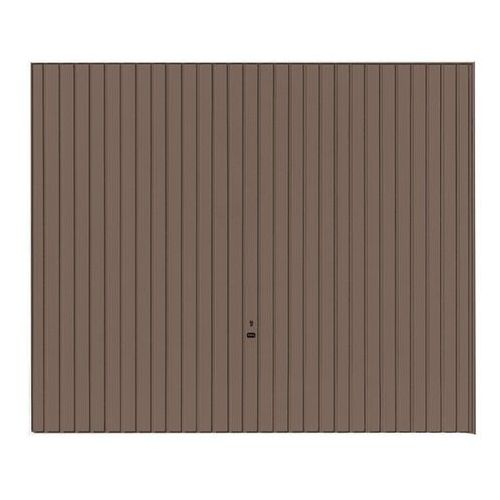 Brama garażowa uchylna GSL 2500 x 2125 mm brązowa (4042533578874)