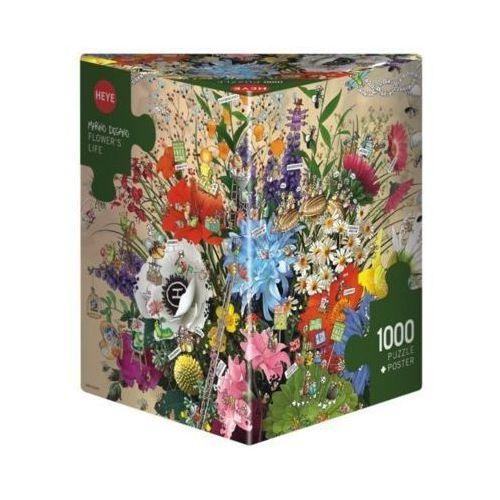 Heye 1000 elementów kwiatowe życie