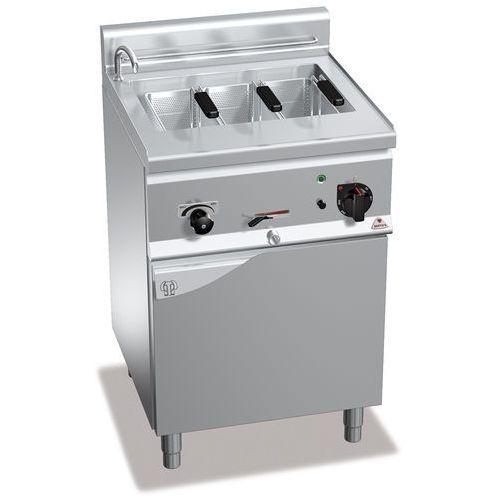 Urządzenie do gotowania makaronu i pierogów elektryczne, wolnostojące, jednokomorowe 25 l, 8,25 kw, 600x600x900 mm   , plus 600, pasta italy, e6cp6m marki Berto's