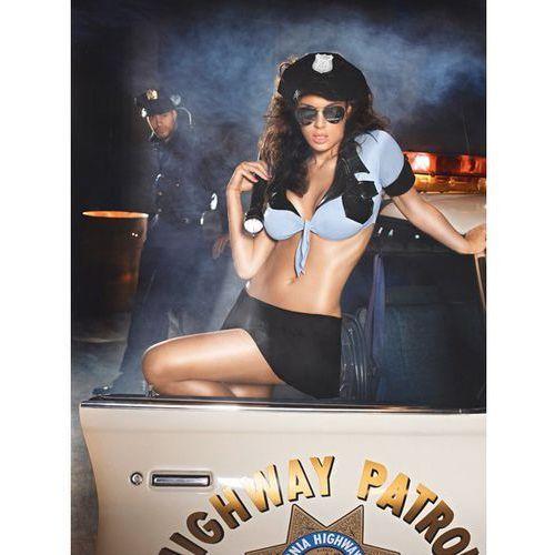 Baci lingerie Przebranie policjantki - baci highway patrol set one size