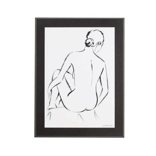obraz feminine act i 60x80cm, 60 × 80 cm marki Dekoria