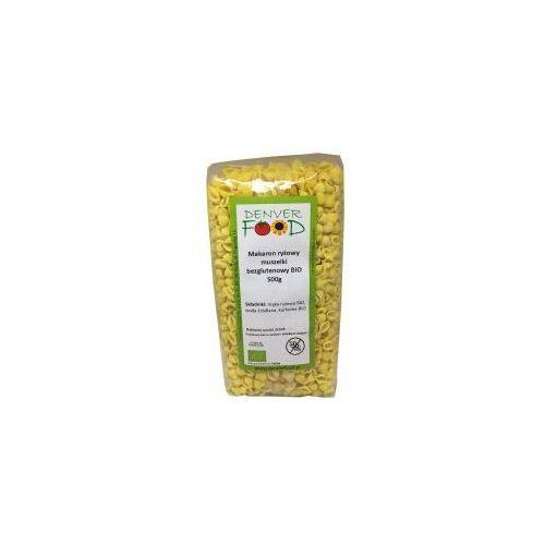 Denver food Makaron ryżowy muszelki bezglutenowy bio 500 g