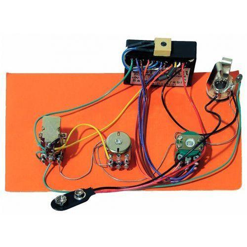 hr-3.3ap/918 - pre-wired active/passive preamp, 2-band eq marki Bartolini