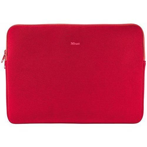 """Trust Etui na notebooka uniwersalne 13.3"""" czerwone (21253) darmowy odbiór w 19 miastach! (8713439212532)"""