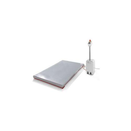 Płaski stół podnośny, seria g,nośność 1000 kg, zakres podnoszenia 80 - 850 mm marki Flexlift hubgeräte