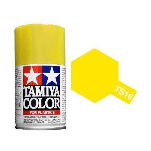 Tamiya Farba modelarska spray ts16 yellow (4950344993581)