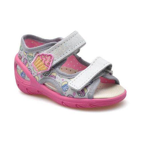 Sandałki dziecięce Befado 065X135 Wielokolorowe