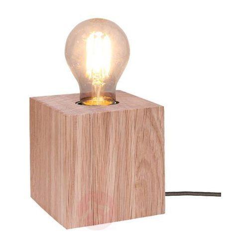 Lampa stołowa Spot Light Trongo 1x60W E27 dąb olejowany/antracyt 7171174