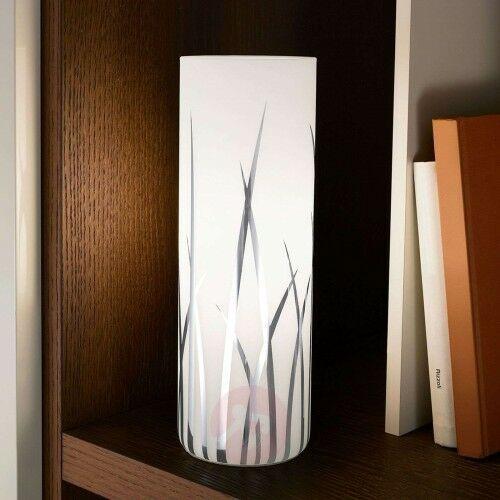 Rivato – lampa stołowa z motywem trawy