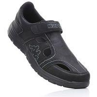 Buty z zapięciem na rzep Kappa bonprix czarny, w 7 rozmiarach