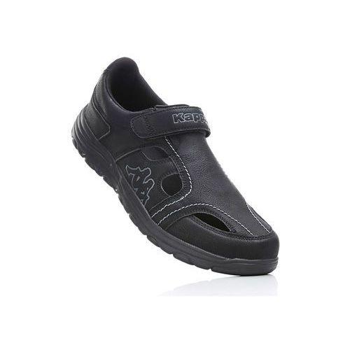 Buty z zapięciem na rzep Kappa bonprix czarny, kolor czarny