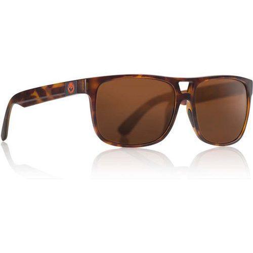 Dragon Okulary słoneczne - roadblock polar matte tortoise brown (245) rozmiar: os