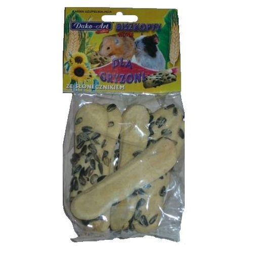 Dako-art Dako art biszkopty dla gryzoni ze słonecznikiem 50g