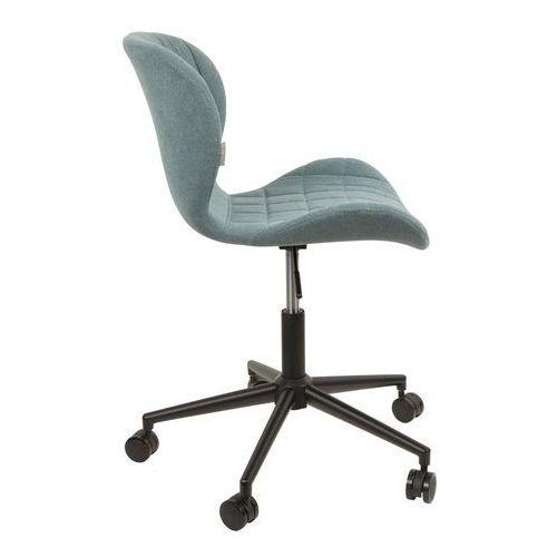 Zuiver:: Krzesło biurowe OMG niebieskie - niebieski