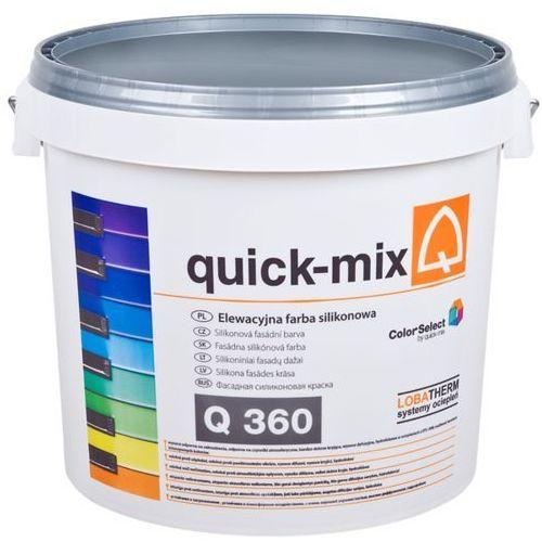 Q 360 elewacyjna farba silikonowa 15l/opak. biała marki Quick-mix