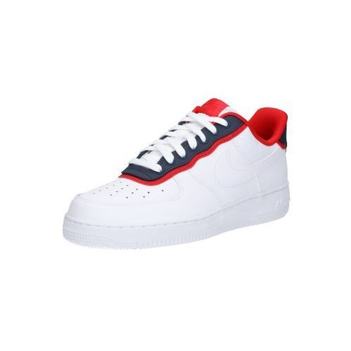 Nike Sportswear Trampki niskie 'Nike Air Force 1 '07 LV8 1' jasnoczerwony / biały