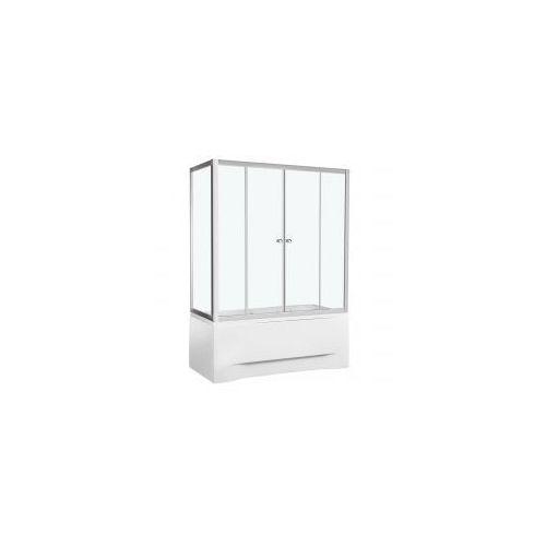 KERRA SILIA Kabina nawannowa 140x150, szkło transparentne