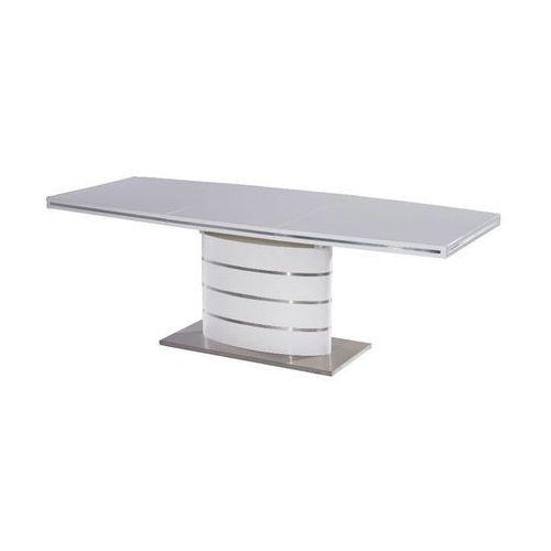 Stół rozkładany FANO 90x160(220) biały, SIG/STO_FANO-160_BIALY-LAKIER_A0E232