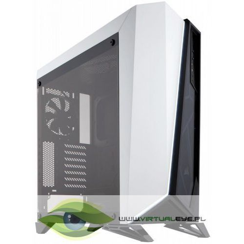 Corsair CARBIDE SERIES SPEC-OMEGA ATX Mid-Tower; WHITE-BLACK (0843591062138)