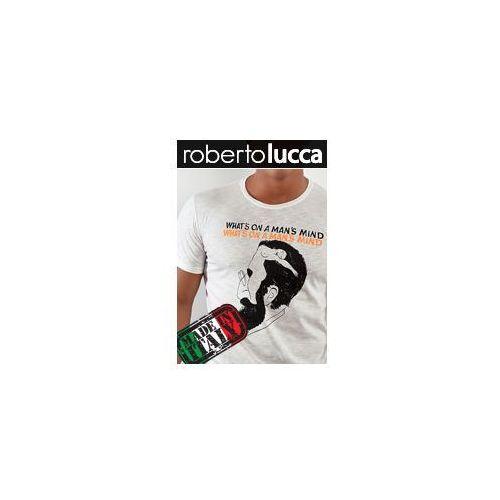 Koszulka rl1301044 ivory / uomo, Roberto lucca