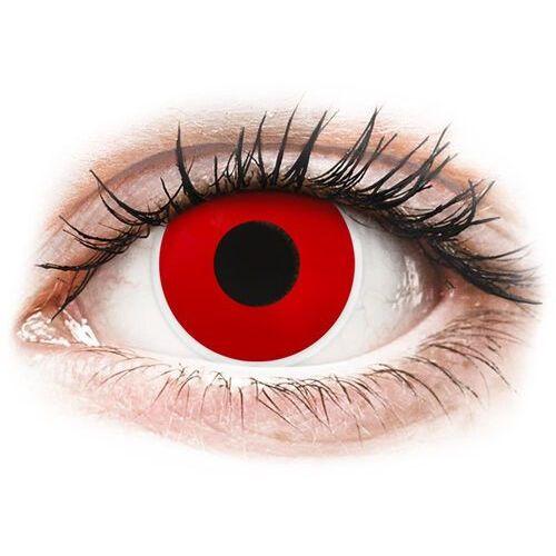 Maxvue vision Colourvue crazy lens - red devil - korekcyjne (2 soczewki) (9555644813055)