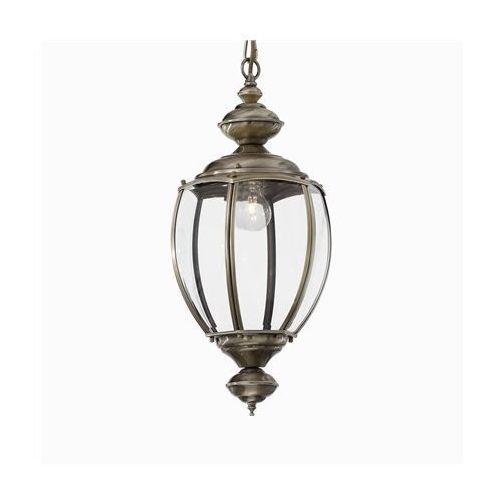 Lampa wisząca norma sp1 big antyczny mosiądz, 05911 marki Ideal-lux