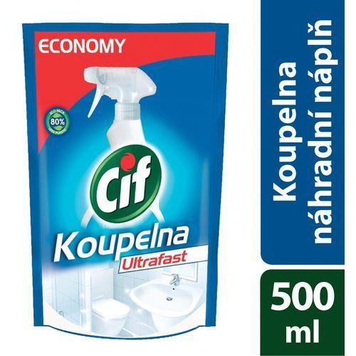 Cif Łazienka Ultraszybki Spray opakowanie uzupełniające 500 ml