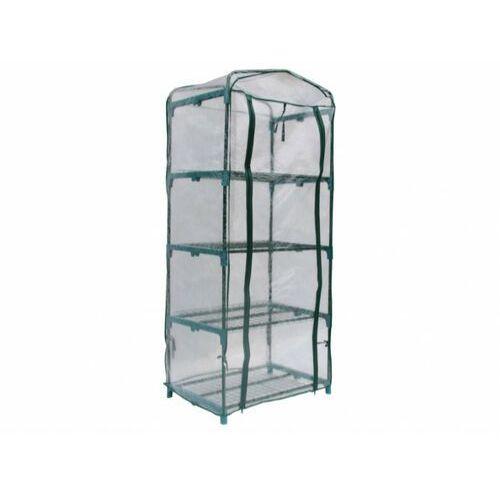 Mini szklarnia balkonowa ze stalową konstrukcją tigridia 0,35m² marki Vente-unique
