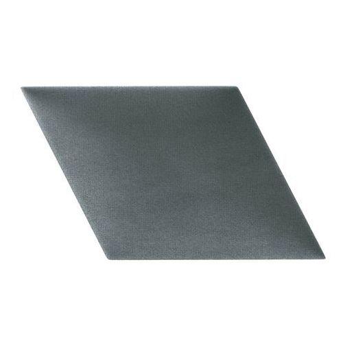 Panel ścienny tapicerowany Stegu Mollis równoległobok 30 x 30 cm ciemnoszary L
