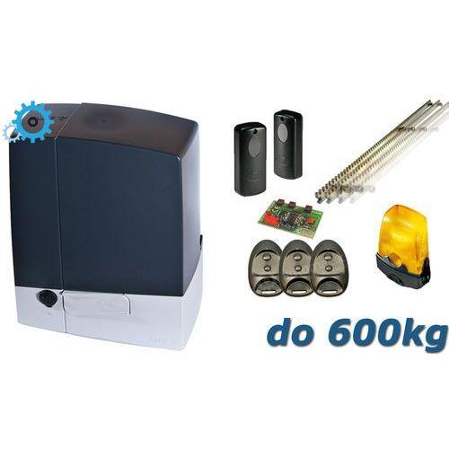 CAME Zestaw BXV 6 SAFE (600kg/24V) XXL - 5mb listwy zębatej