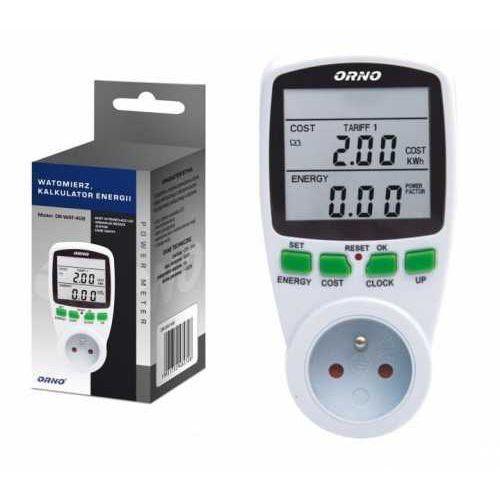 Orno watomierz dwutaryfowy orno or-wat-408 kalkulator energii (5901752482708)