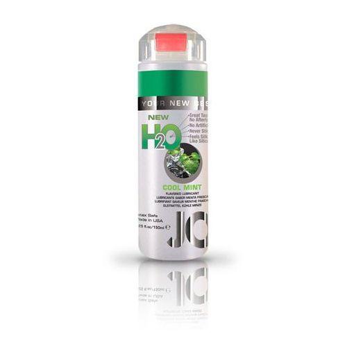SexShop - Lubrykant smakowy - System JO H2O Lubricant Mint 150 ml MIĘTA - online, towar z kategorii: Żele erotyczne