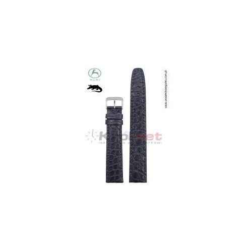 Pasek 0702/18 - skóra aligatora, ciemny granat marki Kuki