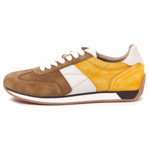 Geox tenisówki męskie Vinto 44 żółty (8051516627221)