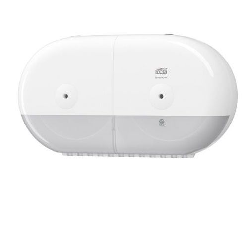 Tork Dozownik do papieru toaletowego podwójny smartone® biały (7322540755220)