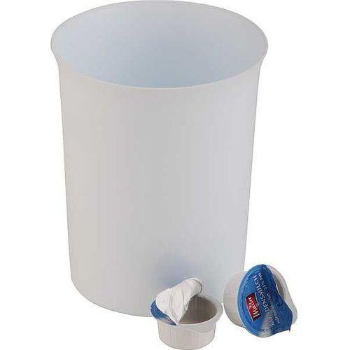 OUTLET - Stołowy pojemnik na odpadki z tworzywa san | Ø110x140 mm