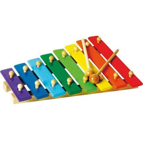 Small foot design Ksylofon/cymbałki 8 tonowy dla dzieci